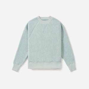 Everlane ReNew fleece raglan sweatshirt pale sage